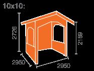 10x10 Sumatran Shelter