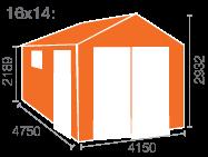 16x14 Malayan Garage