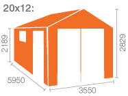 20x12 Malayan Garage