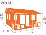 20x14 Sigma (inc. Veranda)