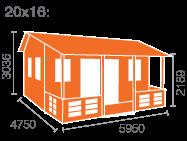 20x16 Sigma (inc. Veranda)