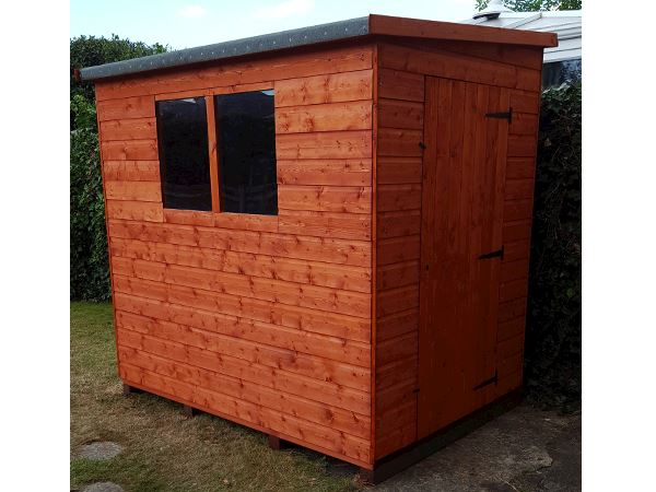 Shiplap Lean To Pent Shed Wooden Lean To Pent Garden Sheds