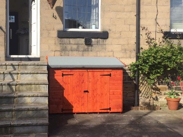 Tiger Storebox Wooden Storage Box Shed
