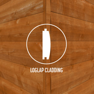 Loglap Cladding
