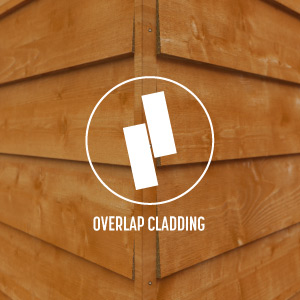 Overlap Cladding