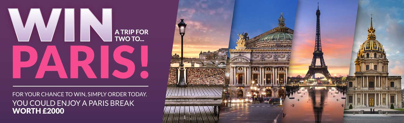 WIN A Trip For Two To Paris