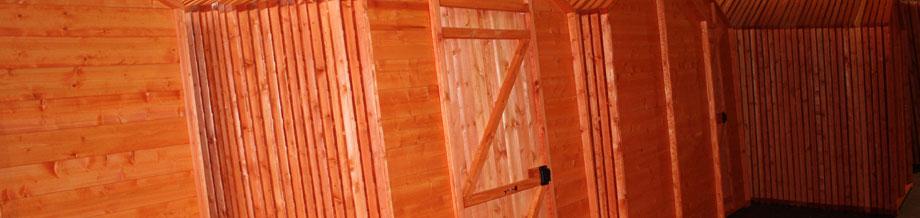 Bulk Wholesale Sheds and Log Cabins