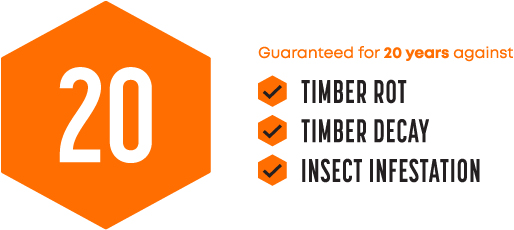Tiger Potting Shed Guarantee