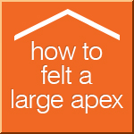 How To Felt A Apex Shed
