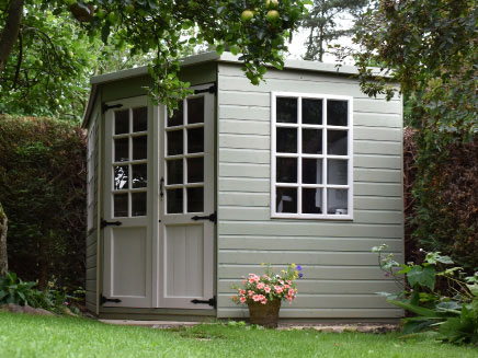 View Garden Sheds Range Summer Houses