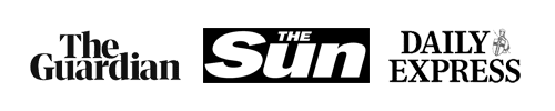 The Guardian, The Sun, Daily Express