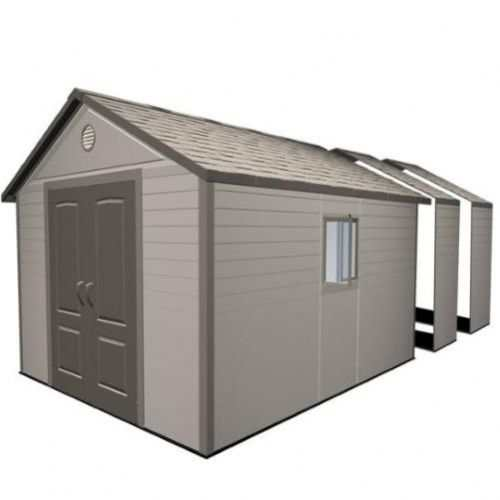 Lifetime 11 Plastic Shed
