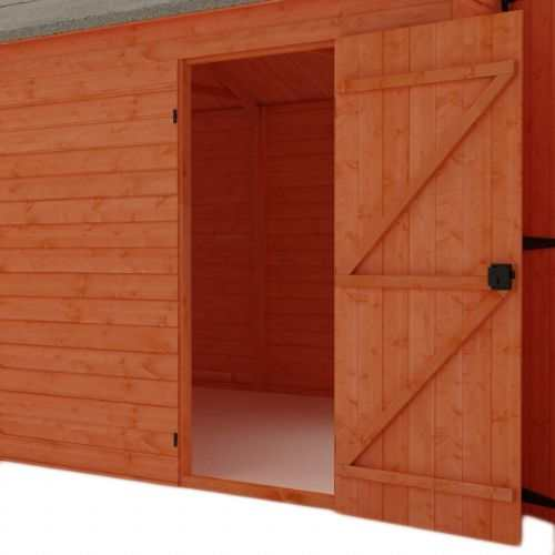 Tiger Wooden Garage