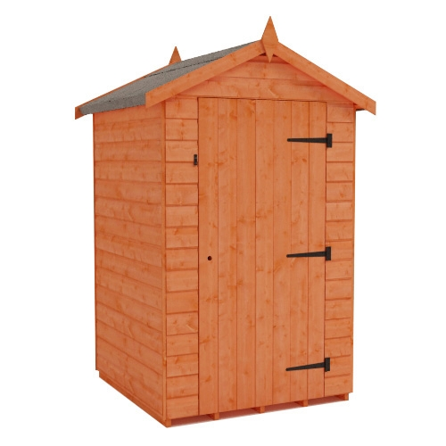 Tiger Shiplap Windowless Apex Shed Plus