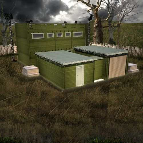 Zombie Fortification Cabin (ZFC-1)
