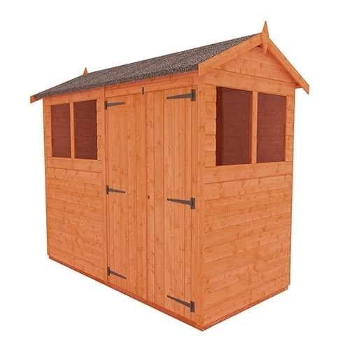 TigerFlex® Shiplap Apex Double Door Shed