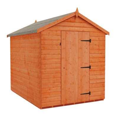 value overlap apex shed wooden garden sheds