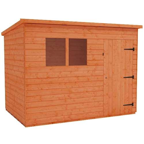 Tiger Shiplap Pent Shed Plus