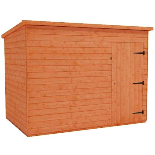 Tiger Shiplap Windowless Pent Shed Plus
