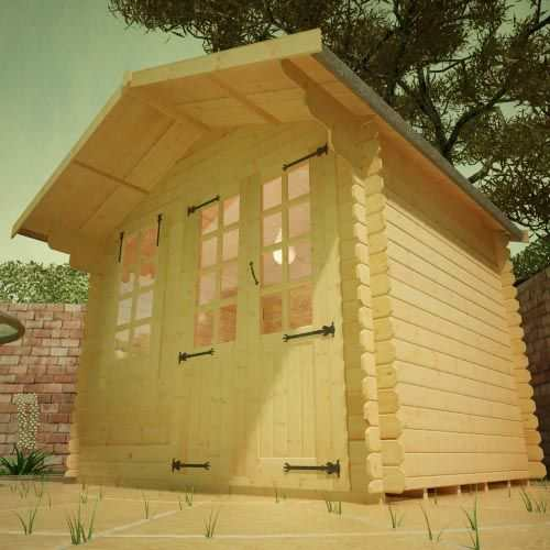 White Label Alexandria | 19mm Log Cabin