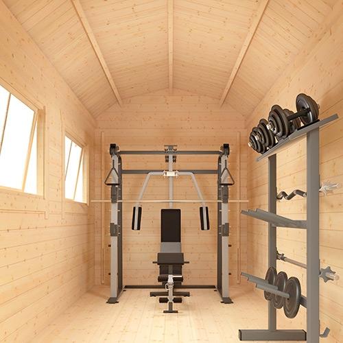 The Alpha Barn | 28mm Log Cabin