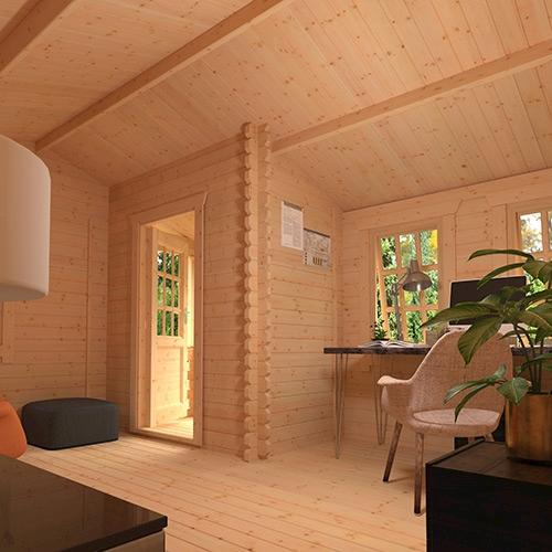 The Amur | 44mm Log Cabin