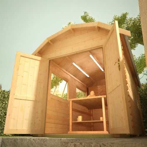 The Alpha Barn   28mm Log Cabin