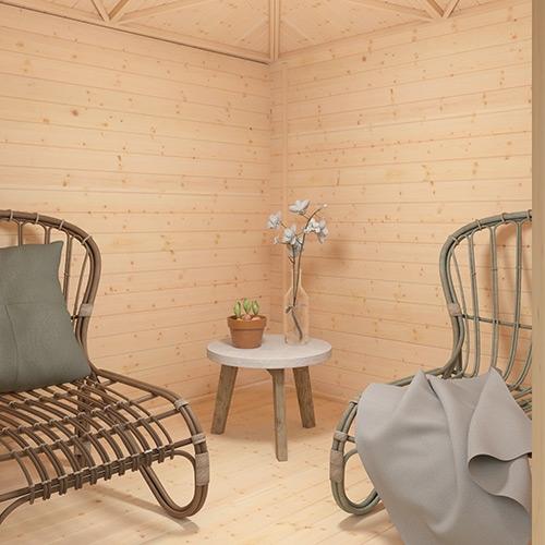 The Bengal Corner Cabin | 28mm Log Cabin