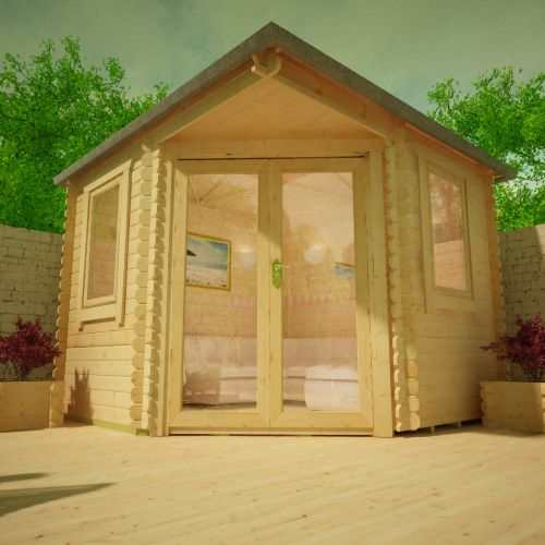 The Bengal Corner Cabin | 28mm Log Cabin