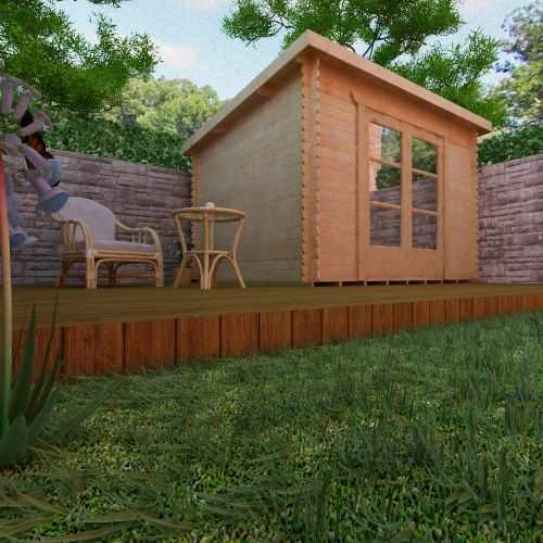The Corbetti | 28mm Log Cabin