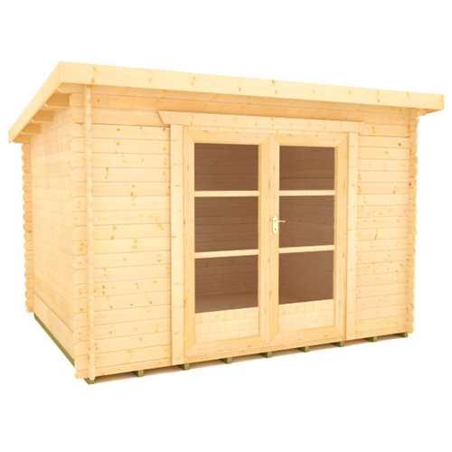 The Corbetti Log Cabin 28mm Pent Log Cabins