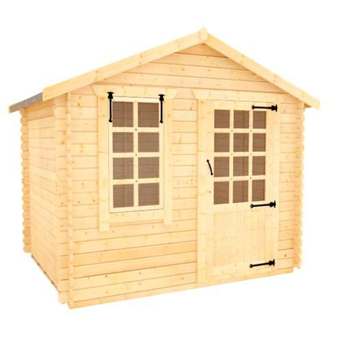 White Label Olympia   19mm Log Cabin