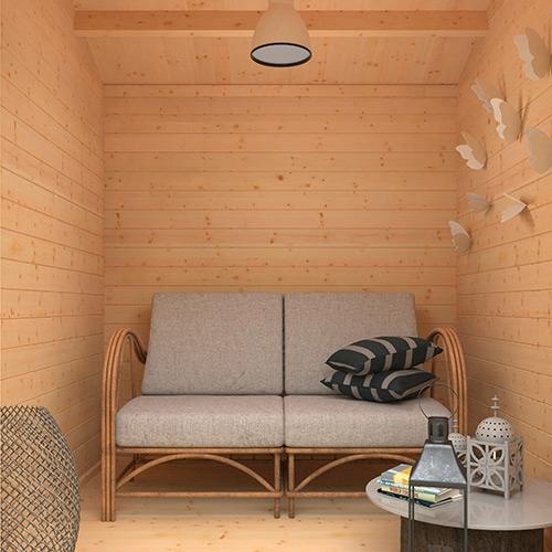 The Capetus | 44mm Log Cabin