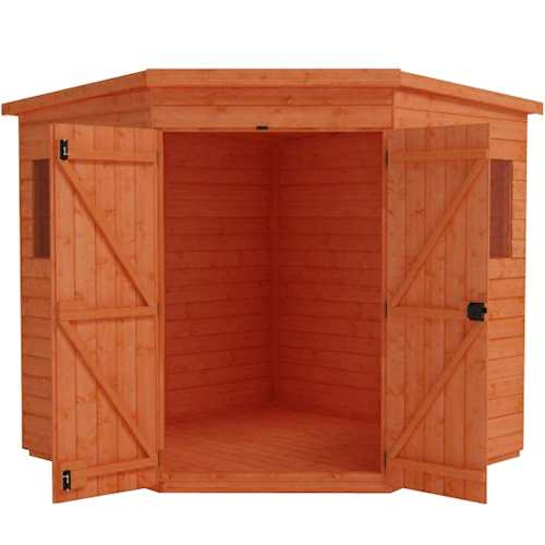 Tiger Deluxe Corner Shed
