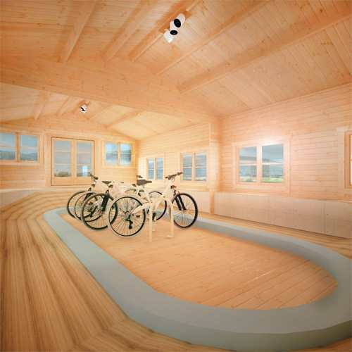 Cycling Log Cabin | Summer of Sport