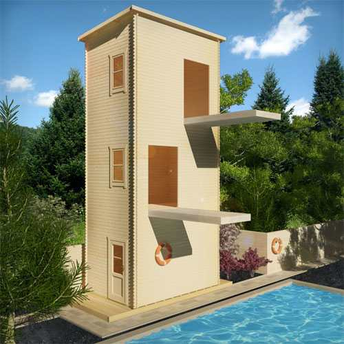 10m Diving Log Cabin | Summer of Sport
