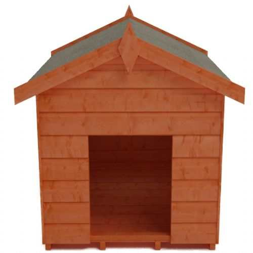 Tiger Shiplap Dog Kennel