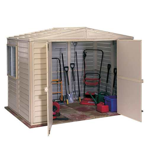 Duramax Duramate Plastic Shed