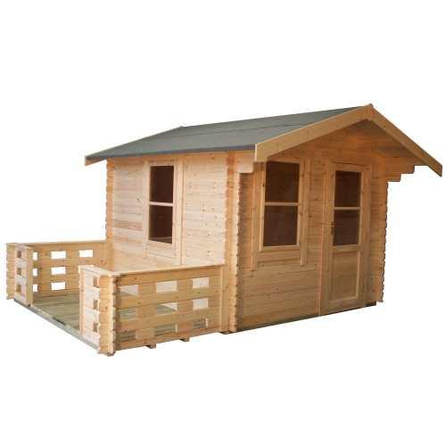 The Caspian   28mm Log Cabin