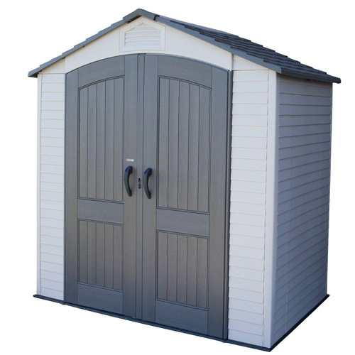 Lifetime Plastic Storage Shed - 4.5x7