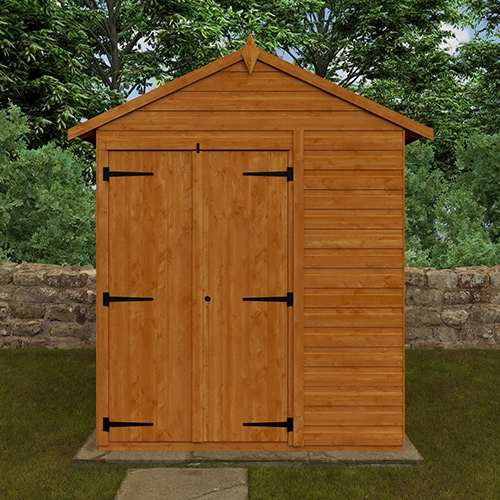 TigerFlex® Shiplap Apex Windowless Double Door Shed