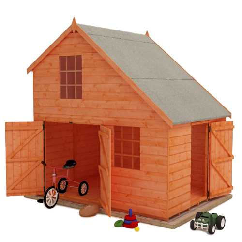 Tigercub Groovy Garage | Playhouse