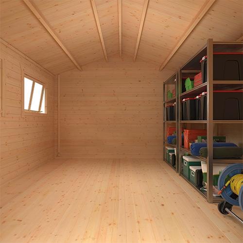 The Javan | 28mm Log Cabin