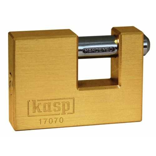 Kasp Brass Shutter Lock - 170 Series