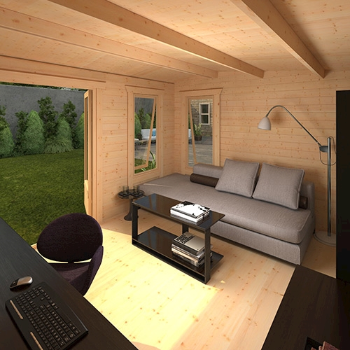 The Lavinia | 28mm Log Cabin