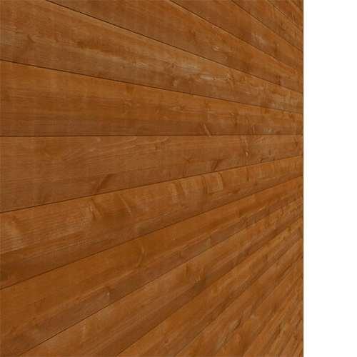 Tiger Heavyweight Workshop Shed   Special Log Board Cladding