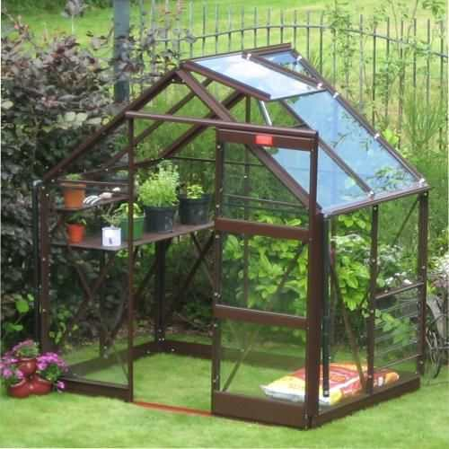 Elite 6ft Wide Craftsman Greenhouse