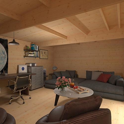 The Procas | 44mm Log Cabin