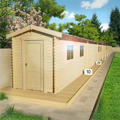 100m Log Cabin | Summer of Sport