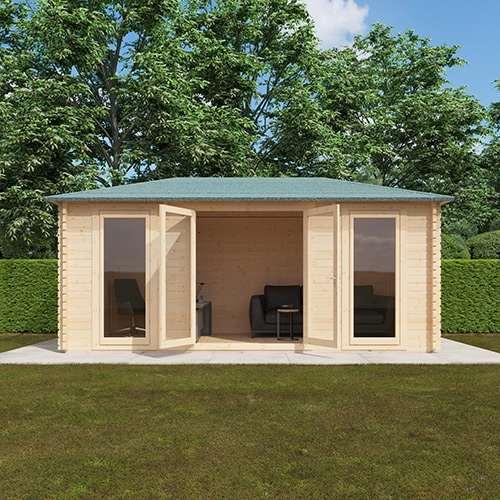 The Sampi | 44mm Log Cabin